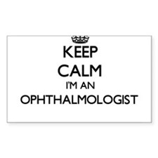 Keep calm I'm an Ophthalmologist Decal