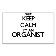 Keep calm I'm an Organist Decal