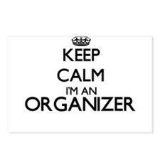 Keep calm I'm an Organize Postcards (Package of 8)