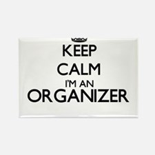 Keep calm I'm an Organizer Magnets