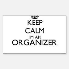 Keep calm I'm an Organizer Decal