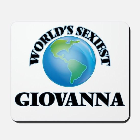 World's Sexiest Giovanna Mousepad