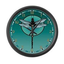 Dragonfly Large Wall Clock