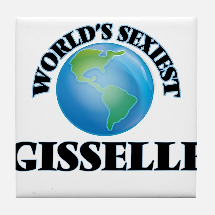 World's Sexiest Gisselle Tile Coaster