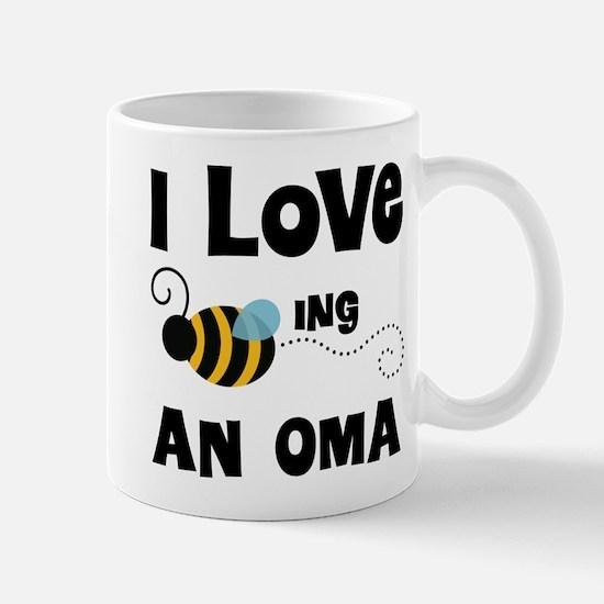 I Love Being An Oma Mug