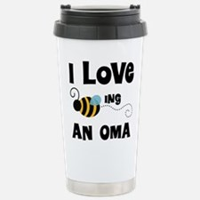 I Love Being An Oma Stainless Steel Travel Mug