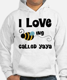 I Love Being Called Yaya Hoodie