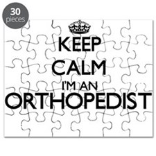 Keep calm I'm an Orthopedist Puzzle