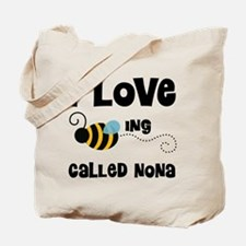 I Love Being Called Nona Tote Bag