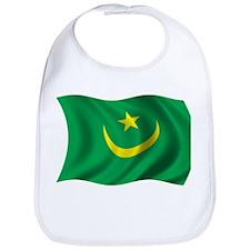 Wavy Mauritania Flag Bib