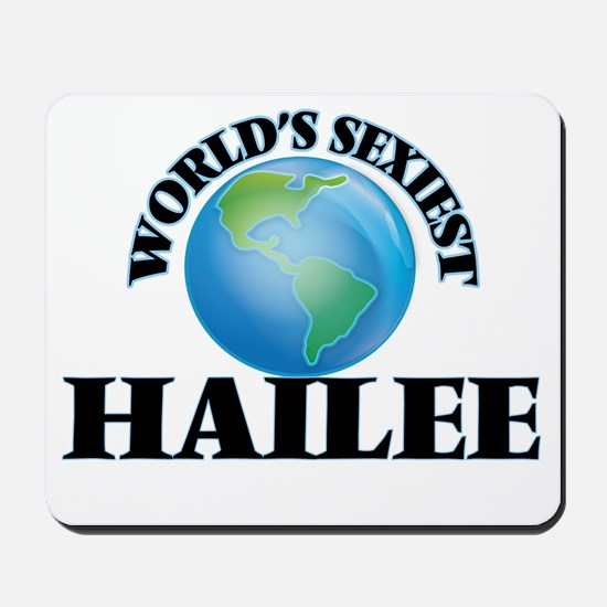 World's Sexiest Hailee Mousepad
