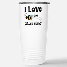 I Love Being Called Nan Stainless Steel Travel Mug