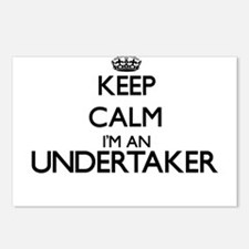 Keep calm I'm an Undertak Postcards (Package of 8)