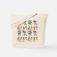 Seamless clowns Tote Bag