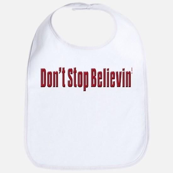 Don't stop believin Bib