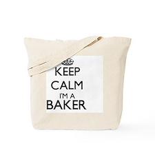 Keep calm I'm a Baker Tote Bag
