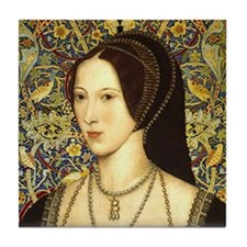 Anne Boleyn Tile Coaster