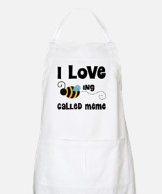 I Love Being Called Meme Apron