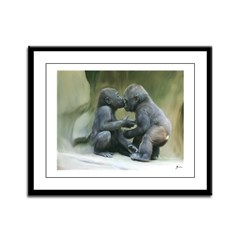 Affection Framed Panel Print