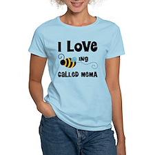 I Love Being Called Mema T-Shirt