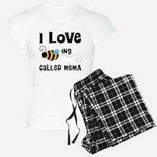 I Love Being Called Mema Pajamas