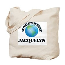 World's Sexiest Jacquelyn Tote Bag