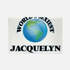 World's Sexiest Jacquelyn Magnets
