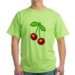 Cherry Delight Green T-Shirt