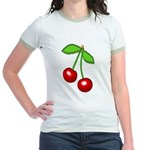 Cherry Delight Jr. Ringer T-Shirt
