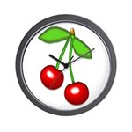 Cherry Delight Wall Clock