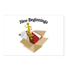 New Beginnings Postcards (Package of 8)