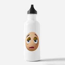 A sad egg Water Bottle