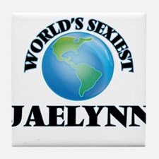 World's Sexiest Jaelynn Tile Coaster