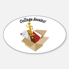 College Awaits Decal