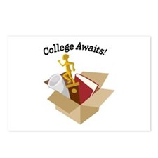 College Awaits Postcards (Package of 8)