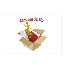 Moving On Up Postcards (Package of 8)