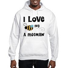 I Love Being A Meemaw Hoodie
