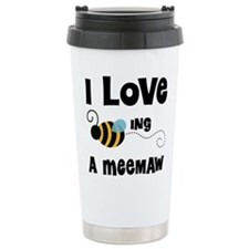 I Love Being A Meemaw Travel Mug