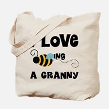 I Love Being A Granny Tote Bag