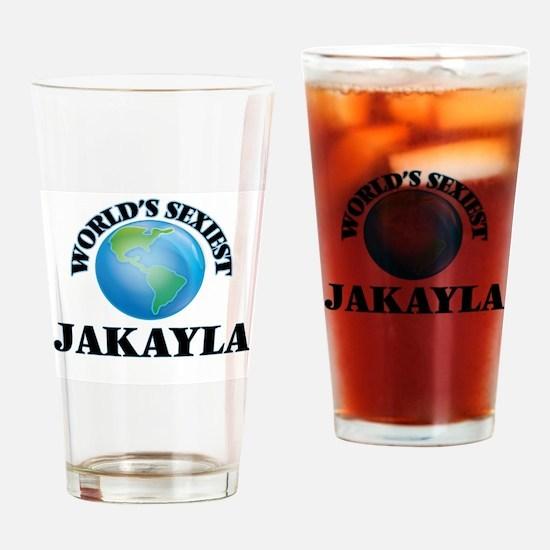 World's Sexiest Jakayla Drinking Glass