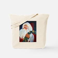 Cool Santa golfing Tote Bag