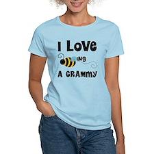 I Love Being A Grammy T-Shirt