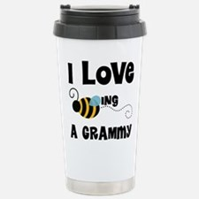 I Love Being A Grammy Stainless Steel Travel Mug