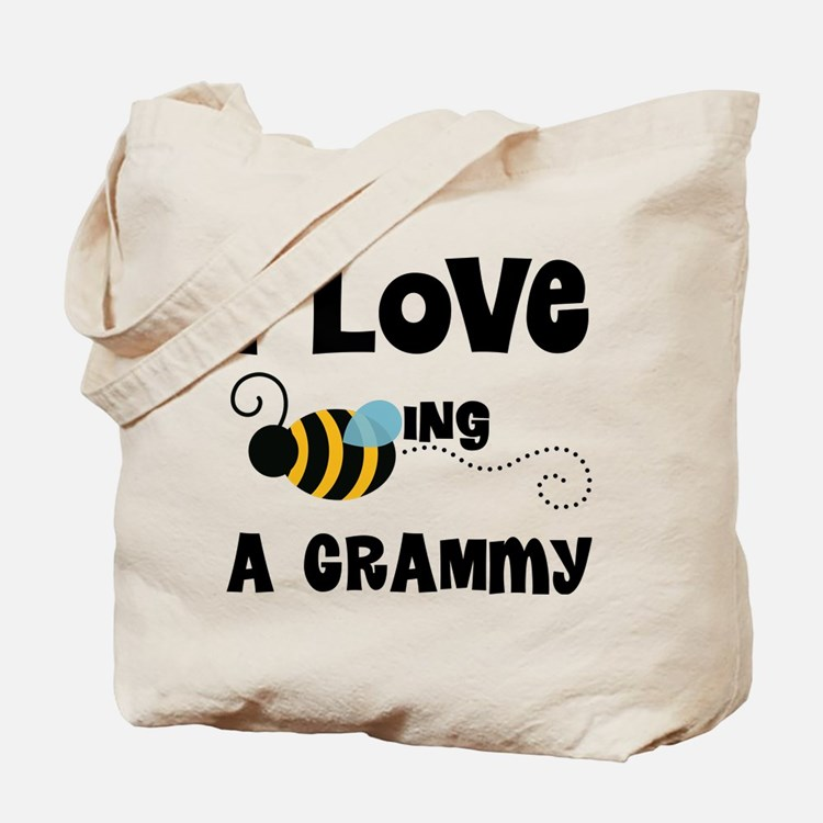 I Love Being A Grammy Tote Bag
