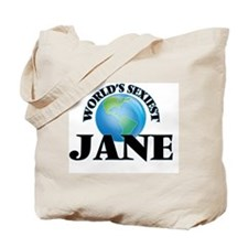 World's Sexiest Jane Tote Bag