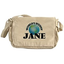 World's Sexiest Jane Messenger Bag