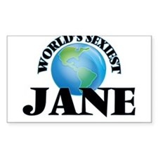 World's Sexiest Jane Decal