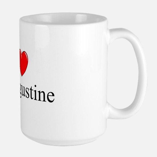 """I Love St. Augustine"" Large Mug"