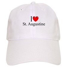 """I Love St. Augustine"" Baseball Cap"