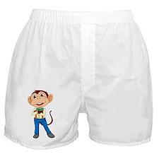 Business monkey Boxer Shorts